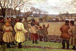 Esempio di realismo socialista nella pittura: Vladimir Krikhatsky: Il primo trattore