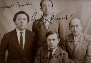 André Breton, Paul Éluard, Tristan Tzara, Benjamin Péret (1932)