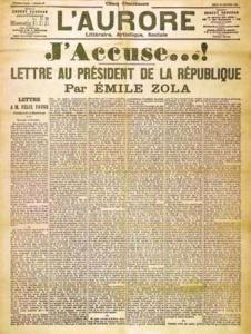 J'accuse di Émile Zola (1898)
