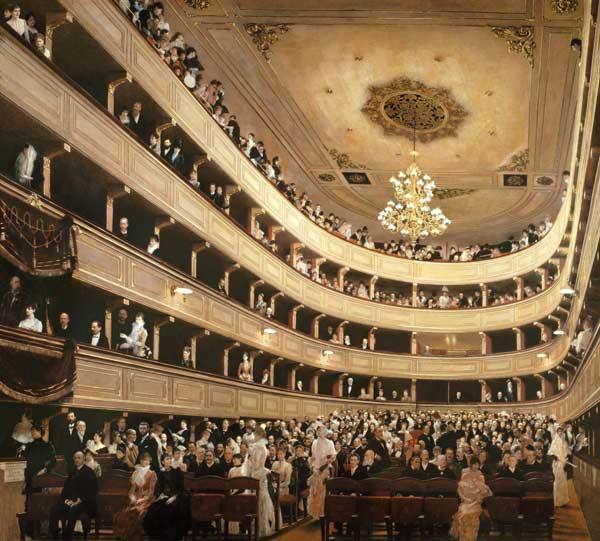 Klimt Burgtheater 1988