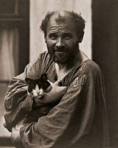 Foto Klimt gatto