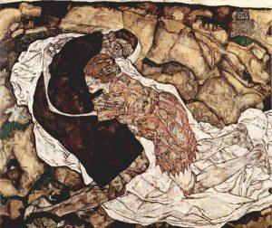 Schiele Morte e Fanciulla 1915