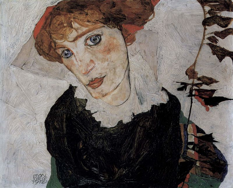 Schiele Wally 1912