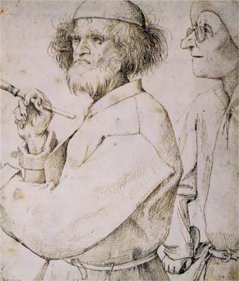 Autoritratto di Pieter Bruegel il Vecchio (1565)