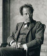 Ritratto del compositore Gustav Mahler
