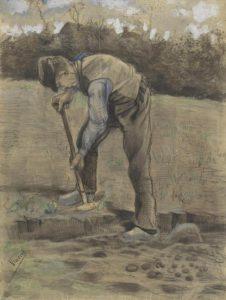 Van Gogh: Scavatore, 1881, Van Gogh Museum, Amsterdam (Vincent van Gogh Foundation)