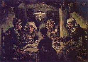 Van Gogh: I mangiatori di patate, 1885, Van Gogh Museum, Amsterdam (Vincent van Gogh Foundation)