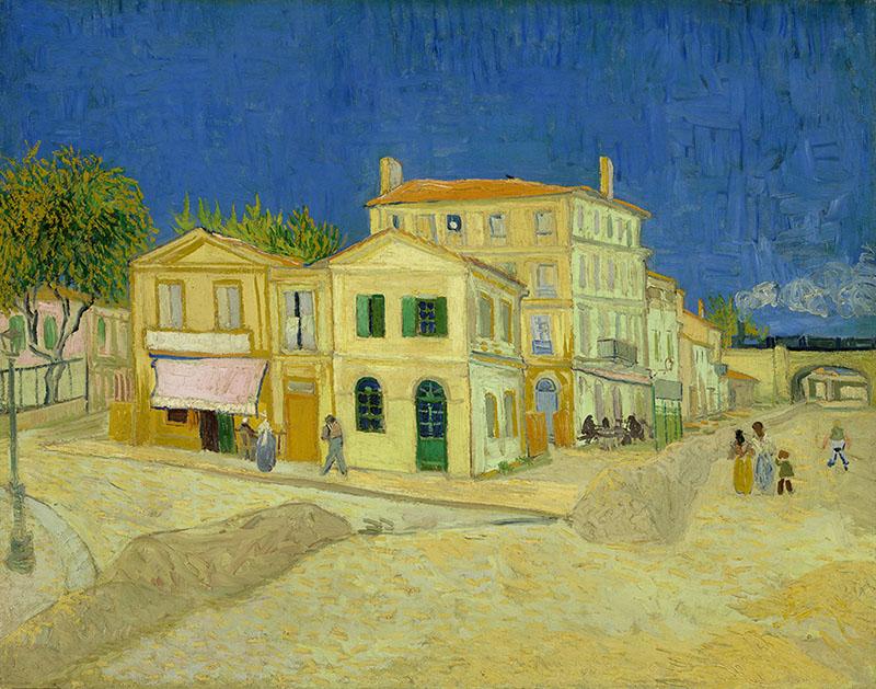 Van Gogh: La casa gialla ad Arles, Arles, 1888, Van Gogh Museum, Amsterdam (Vincent van Gogh Foundation)