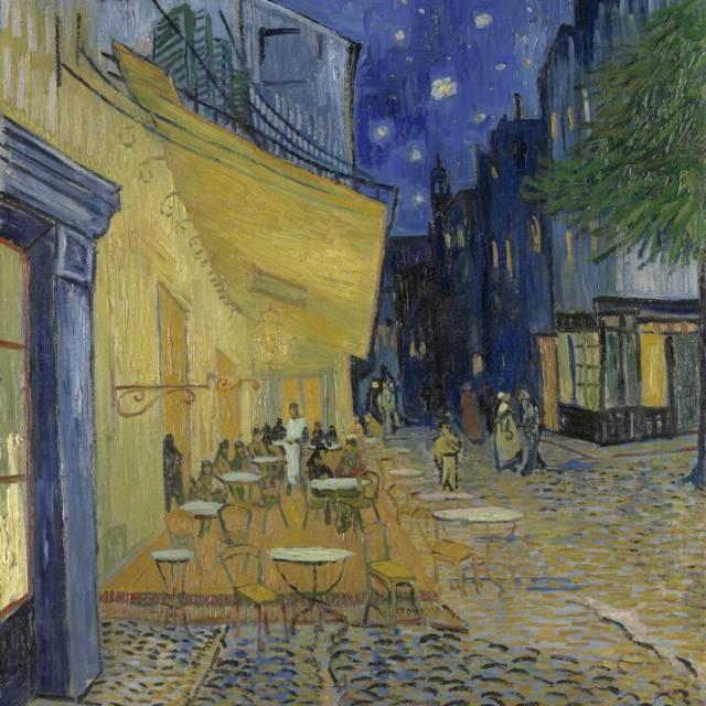 Van Gogh: Il caffè di notte, Arles, 1888, Kröller Müller Museum Otterlo