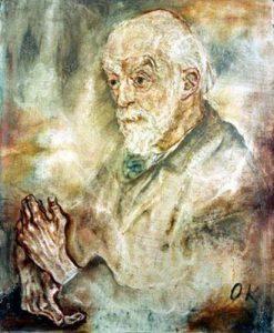 Oskar Kokoschka: Ritratto di Auguste-Henri Forel, 1910, Kunsthalle Mannheim