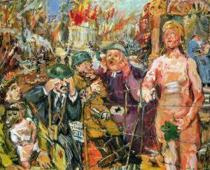 Oskar Kokoschka: Anschluss. Alice im Wunderland, 1942 Wien, Wiener Städtische Versicherung AG