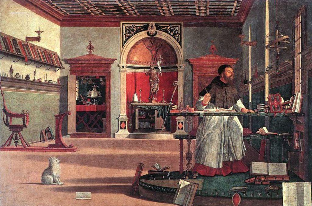 Carpaccio: Agostino nello studio