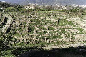 Resti dell'antica città di Ippona o Hippo Regius (oggi Annaba) in Algeria