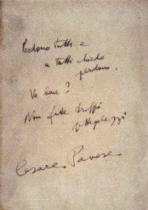 Le ultime annotazioni sui Dialoghi con Leucò di Cesare Pavese