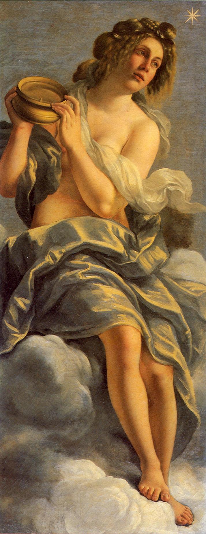 Artemisia Gentileschi: Allegria dell'inclinazione, 1615, Firenze: Casa Buonarroti.