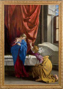 Orazio Gentileschi: Annunciazione, 1623 circa, Torino: Galleria Sabauda