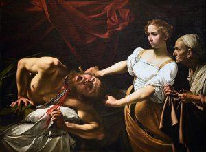 Caravaggio: Giuditta e Oloferna, 1600/1602, Roma: Galleria nazionale d'arte antica Palazzo Barberini