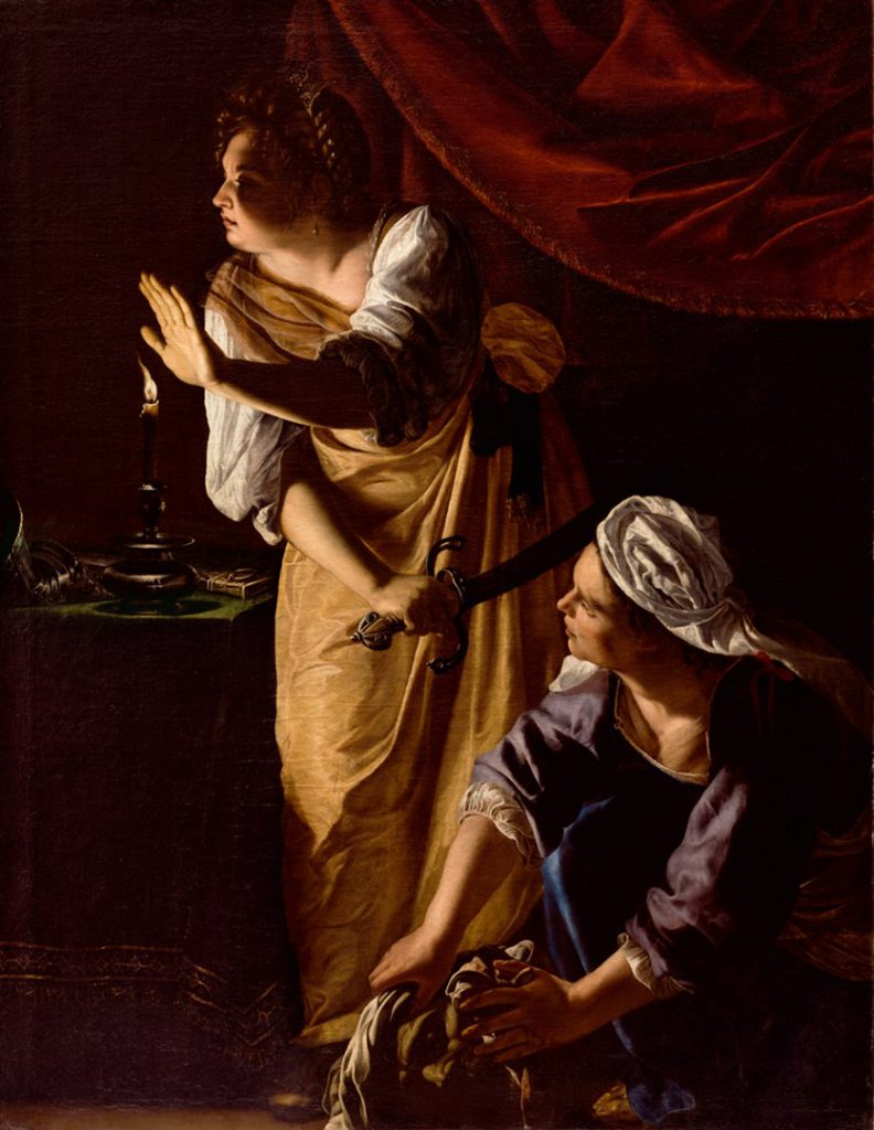Artemisia Gentileschi: Giuditta e la fantesca, 1625, Detroit: Institute of Arts