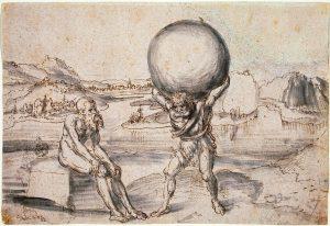 Cranach: Ercole e Atlante