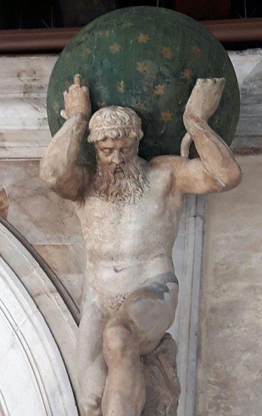 Tiziano Aspetti: Atlante, Venezia
